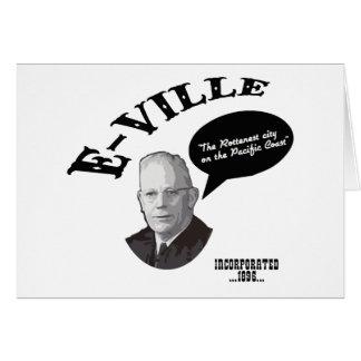 E-Ville - Emeryville California Greeting Card