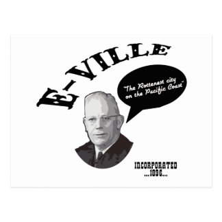 E-Ville - Emeryville California Postcard