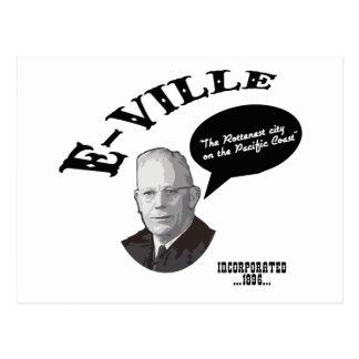 E-Ville - Emeryville California Postcard
