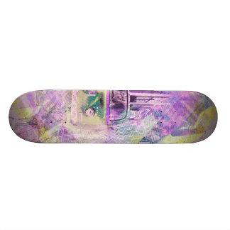 E Wagon Dreams in SanFransco aka HippyVille Skate Deck