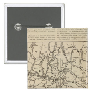 E Washington Idaho Region 15 Cm Square Badge
