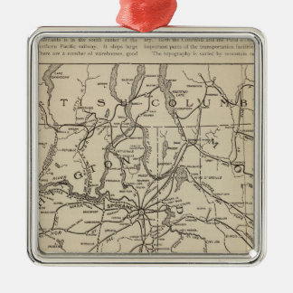 E Washington Idaho Region Christmas Ornament