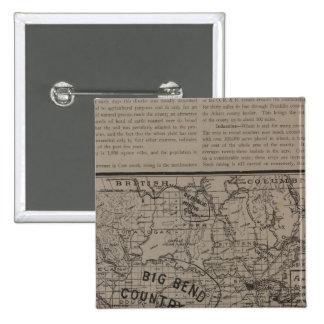 E Washington, N Idaho 15 Cm Square Badge