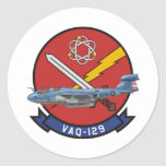 EA-6B Prowler Round Stickers