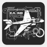 EA-6B Prowler Square Sticker