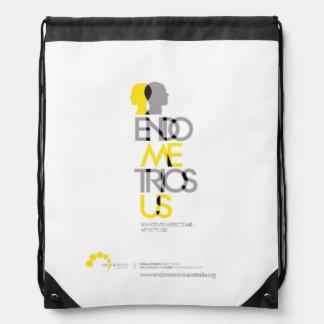 EA - EndoMEtriosUS Drawstring Bag
