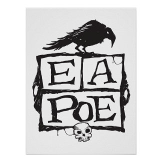 EA Poe Boxes Poster