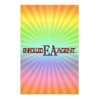 EA SPECIALIST LOGO ENROLLED AGENT STATIONERY PAPER