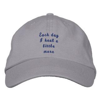 Each day I heal a little more Baseball Cap