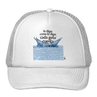 Each drop counts trucker hat