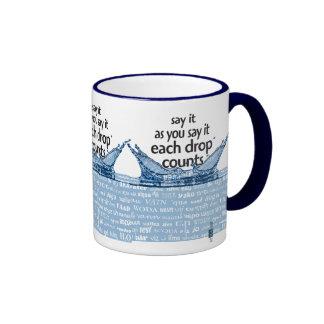 Each drops counts mug