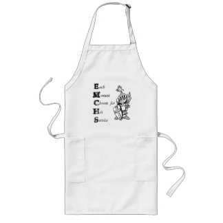 each moment chosen for his service long apron