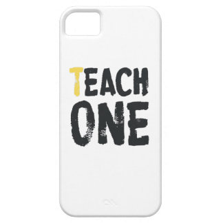 Each one Teach one Barely There iPhone 5 Case