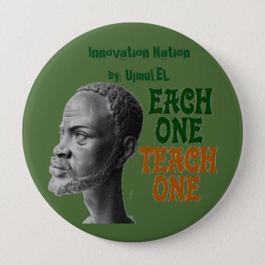 Each One,Teach One button
