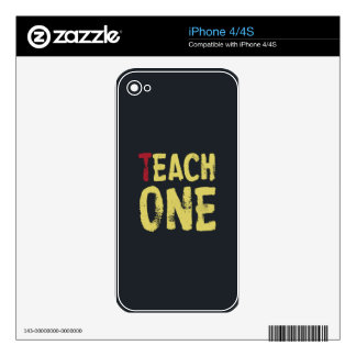 Each one teach one decal for iPhone 4