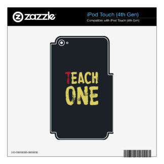 Each one teach one decal for iPod touch 4G