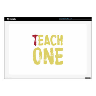 Each one teach one decal for laptop