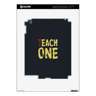 Each one teach one decals for iPad 3