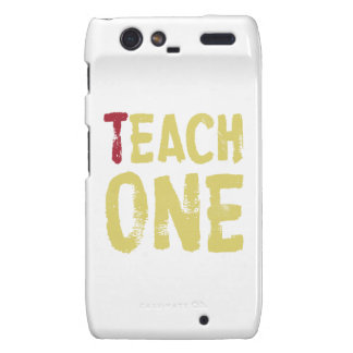 Each one teach one droid RAZR covers