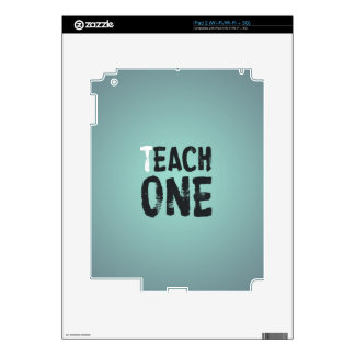 Each one teach one iPad 2 skin
