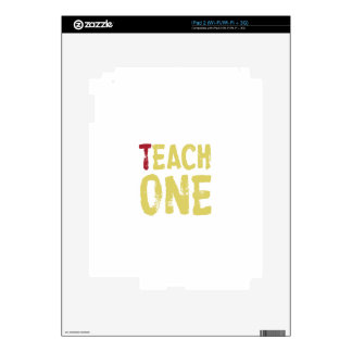 Each one teach one iPad 2 skins