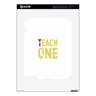 Each one teach one iPad 3 decals