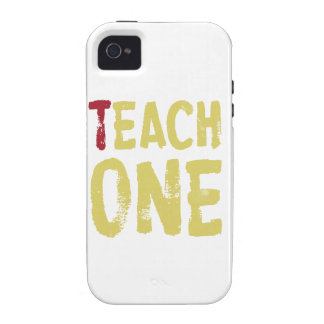 Each one teach one iPhone 4 case