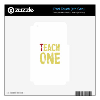 Each one teach one iPod touch 4G decal