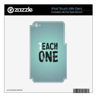 Each one teach one iPod touch 4G skin
