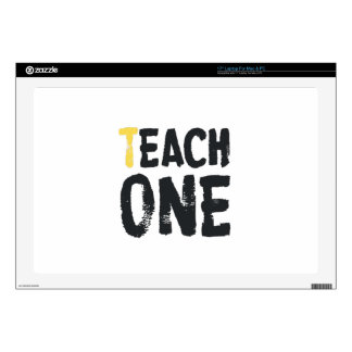 Each one Teach one Laptop Decals