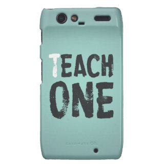 Each one teach one motorola droid RAZR cases