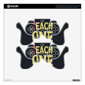 Each one teach one PS3 controller decal