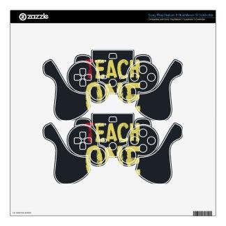 Each one teach one PS3 controller decal