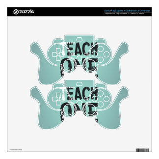 Each one teach one PS3 controller decals