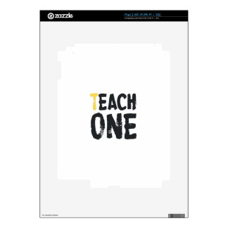 Each one Teach one Skin For iPad 2