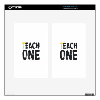 Each one Teach one Skin For Kindle Fire