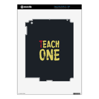 Each one teach one skins for iPad 2