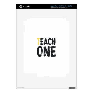 Each one Teach one Skins For iPad 3