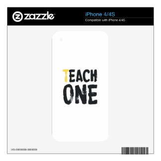 Each one Teach one Skins For iPhone 4
