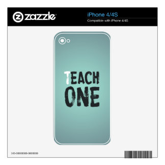 Each one teach one skins for iPhone 4S