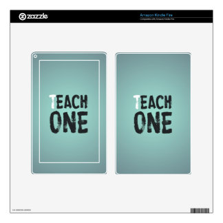 Each one teach one skins for kindle fire