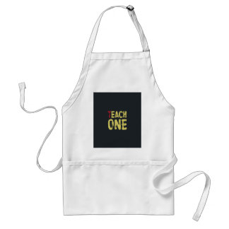 Each one teach one standard apron