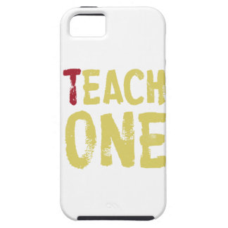 Each one teach one tough iPhone 5 case
