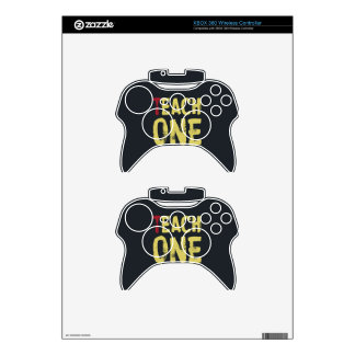 Each one teach one xbox 360 controller skins