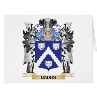 Eades Coat of Arms - Family Crest Big Greeting Card