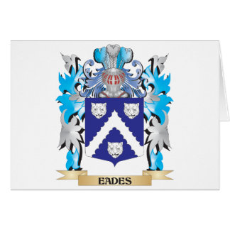 Eades Coat of Arms - Family Crest Greeting Card