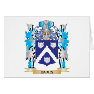 Eades Coat of Arms - Family Crest Greeting Cards