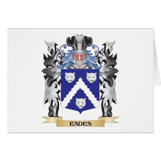 Eades Coat of Arms - Family Crest Note Card