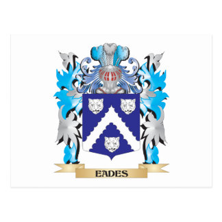 Eades Coat of Arms - Family Crest Post Cards