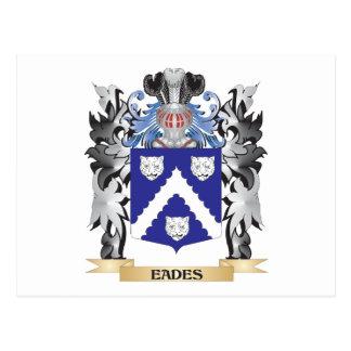 Eades Coat of Arms - Family Crest Postcard